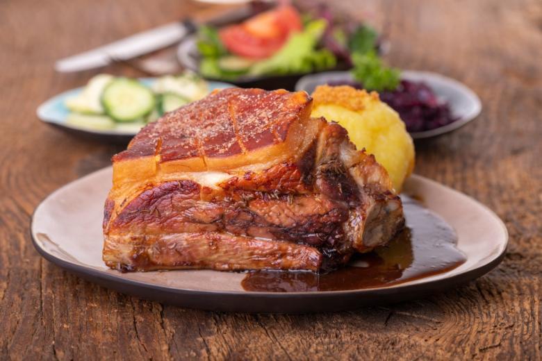 Франконское жаркое из свинины
