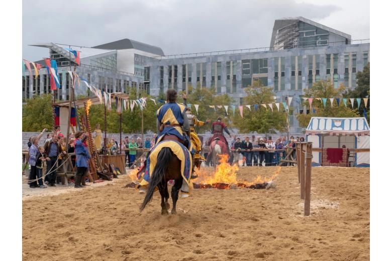 Средневековые праздники Германии