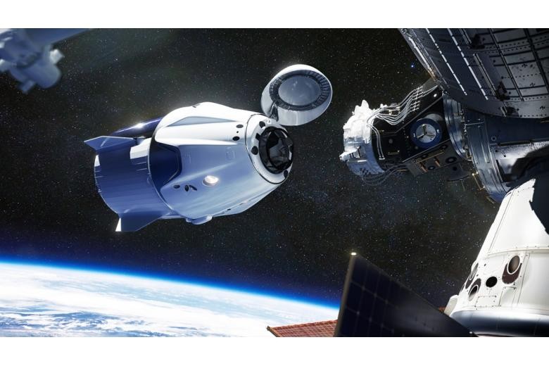 nemeckij-astronavt-crew-dragon / Фото: Evgeniyqw / shutterstock.com