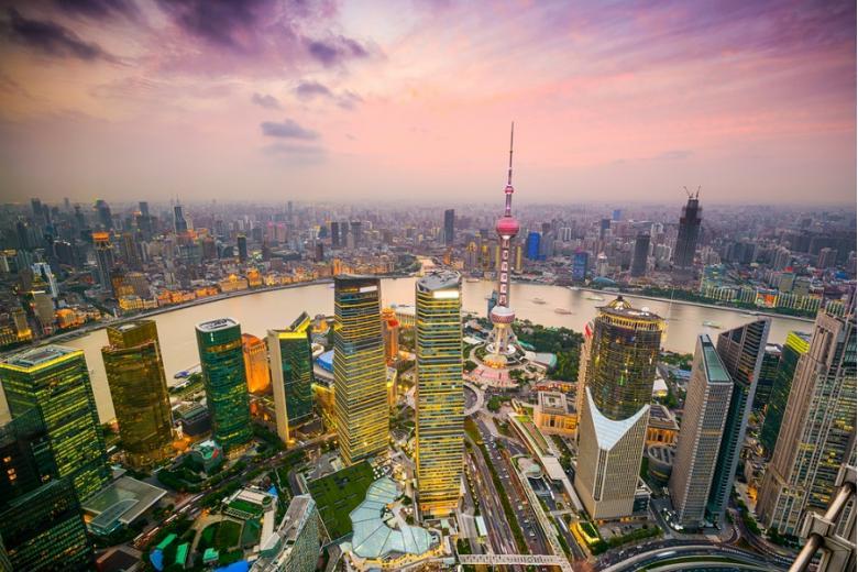 Шанхай, Китай. Фото: ESB Professional / shutterstock.com