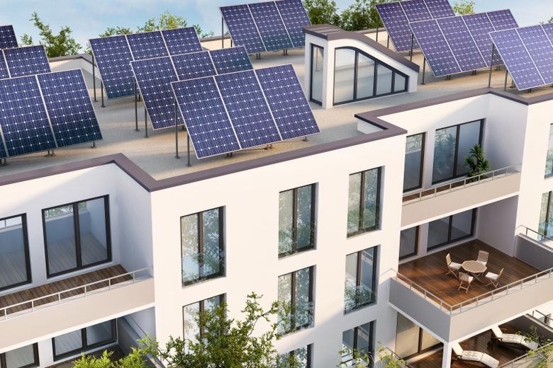Солнечные батареи в Берлине Фото: Автор: Slavun / shutterstock.com