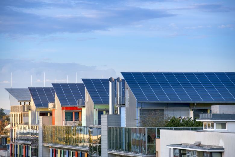 солнечные панели в Германии: дома во Фрайбурге