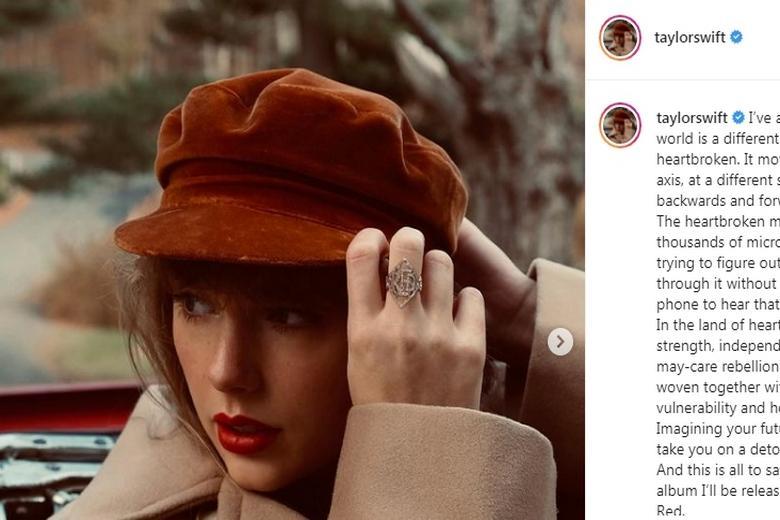 Тейлор Свифт Фото: Автор: скриншот из инстаграмм-акаунта Тейлор Свифт taylorswift / https://www.instagram.com/p/CQRUBXtjZXT/?utm_source=ig_web_copy_link