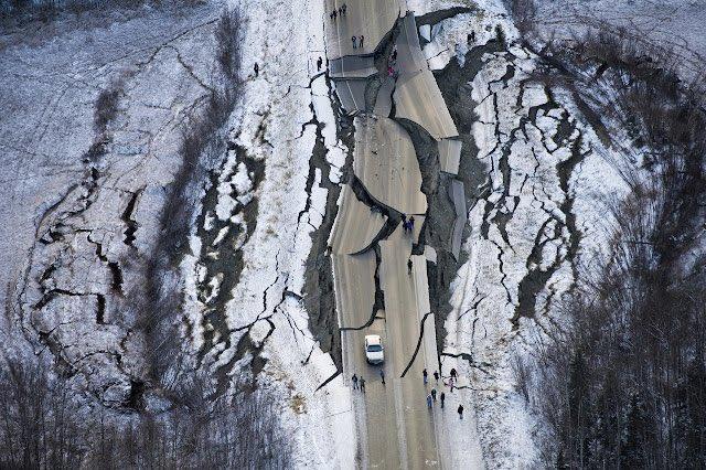 Землетрясение на Аляске / Фото:  xioumoristas / twitter.com
