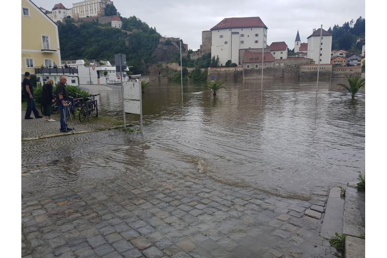 Наводнение в Пассау / Фото: Phil / twitter.com