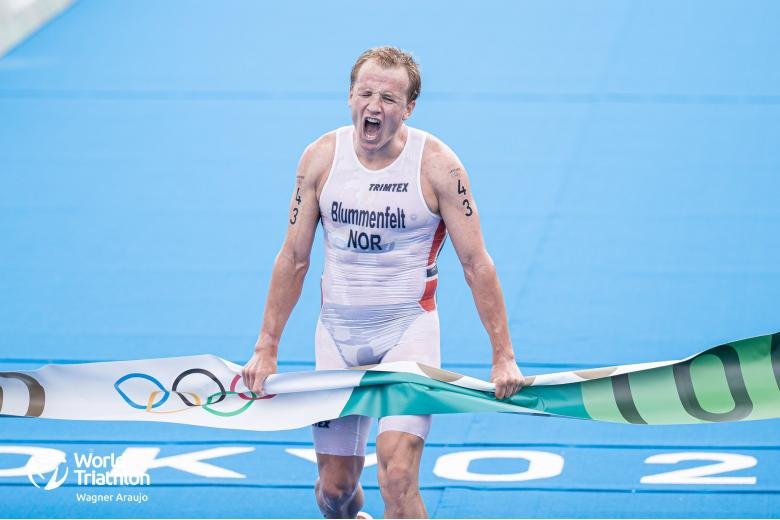 триатлон на Олимпиаде / Фото: World Triathlon / twitter.com
