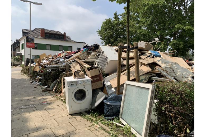 Последствия разрушительного потопа вГермании. Фоторепортаж газеты «Переселенческий Вестник» фото 3