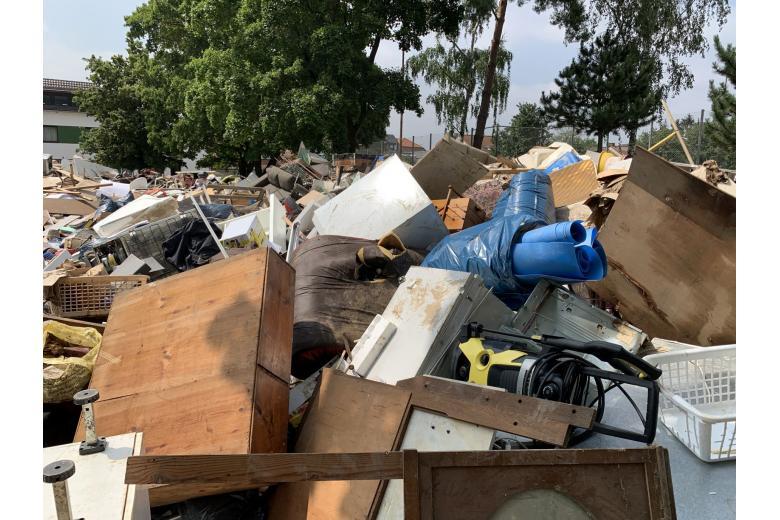 Последствия разрушительного потопа вГермании. Фоторепортаж газеты «Переселенческий Вестник» фото 2