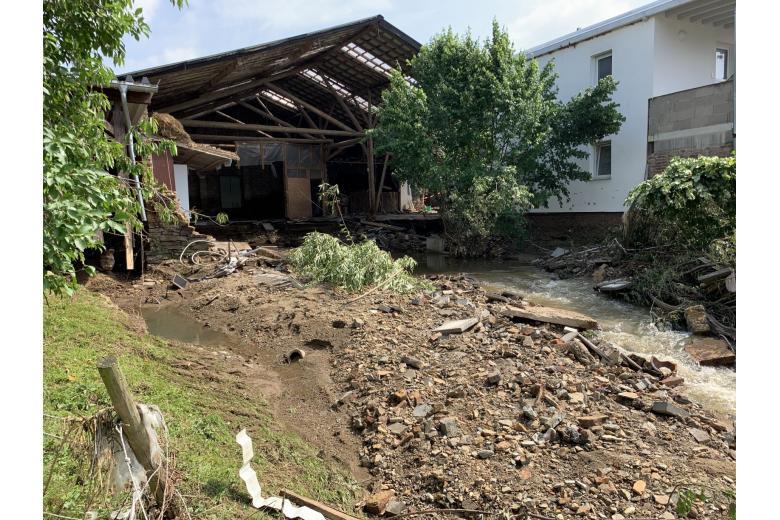 Последствия разрушительного потопа вГермании. Фоторепортаж газеты «Переселенческий Вестник» фото 9
