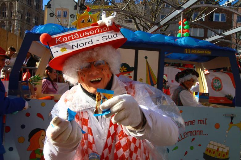 Кёльнский карнавал. Фото: kamienczanka / shutterstock.com