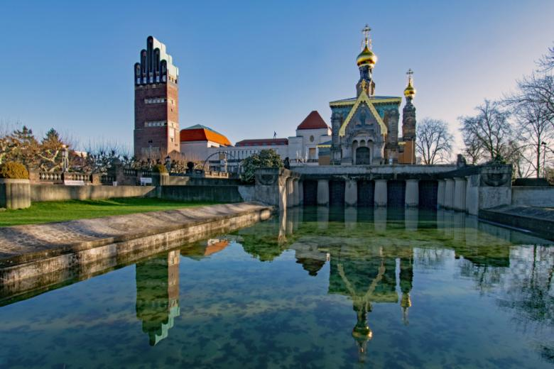 Mathildenhöhe в Дармштадте / Фото: Lapping Pictures / shutterstock.com