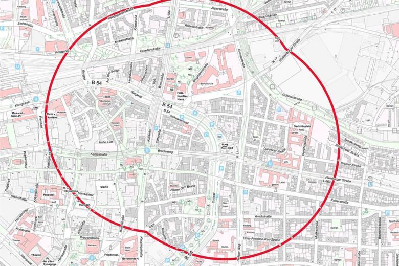 Дортмунд: в центре обнаружены неразорвавшиеся бомбы