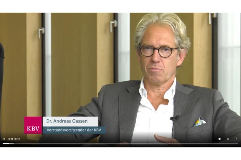 скриншот видео / kbv.de
