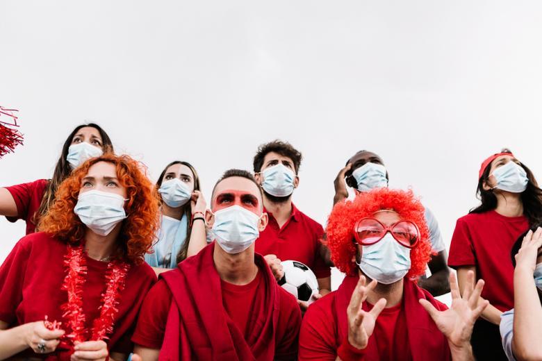 коронавирусные ограничения на мероприятиях в Германии Фото: Xavier Lorenzo/shutterstock.com