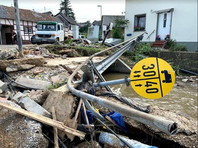 Наводнение в Германии Фото: Григорий Родин, Aussiedlerbote
