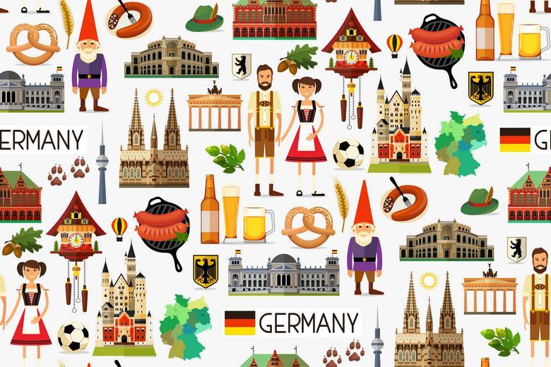 Немцы путешествуют летом в Германии Фото: Автор: Moloko88 / shutterstock.com