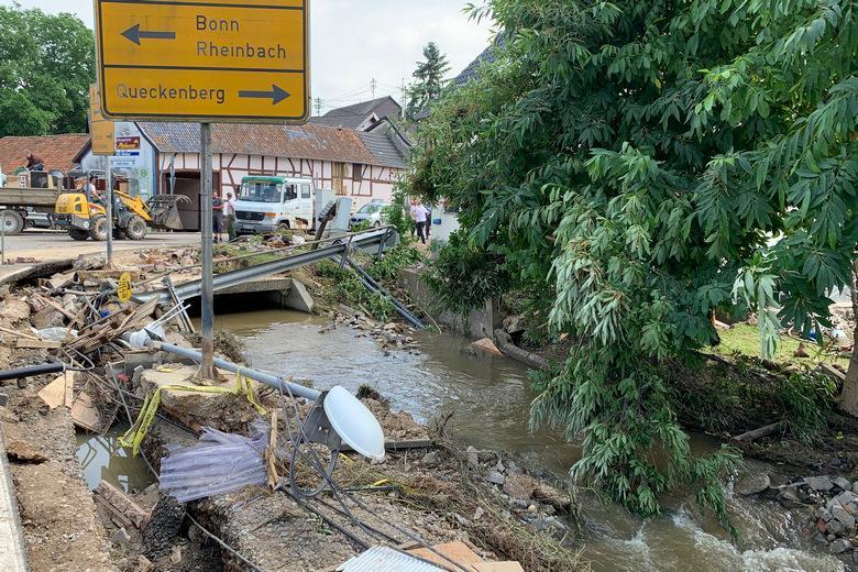 Немецкие власти знали о наводнении Фото: Сергей Родин