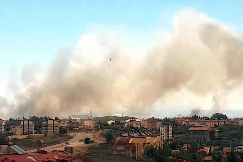 Пожары в Анталии