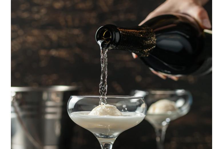 сорбет из шампанского