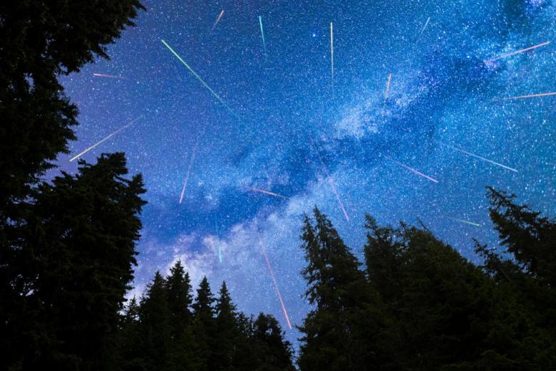 Звездопады летом-2021, Персеиды Фото: Belish/shutterstock.com