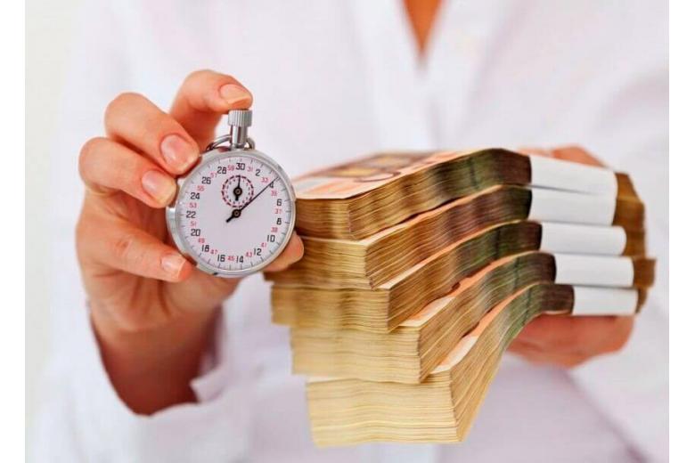 Время — деньги. Фото: shutterstock.com