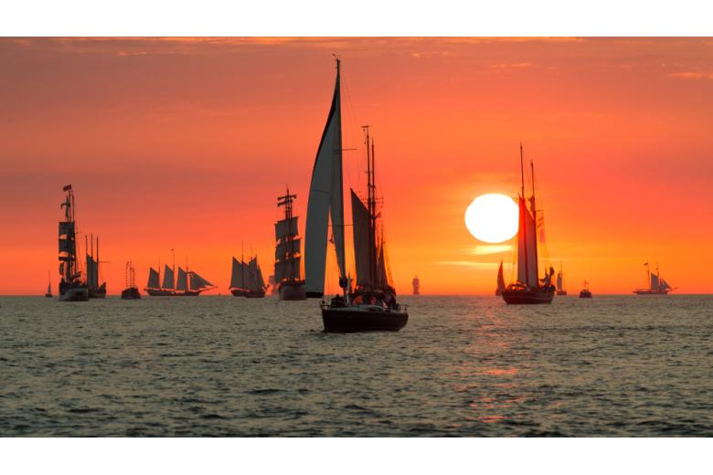 Hanse Sail-2021 в Варнемюнде / Фото: ecwo / shutterstock.com