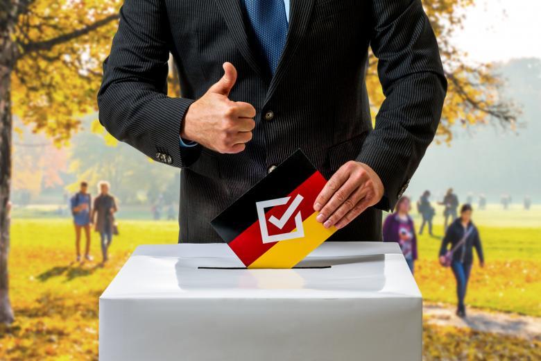 Кто победит на выборах в Бундестаг. Фото: diamant24 / shutterstock.com