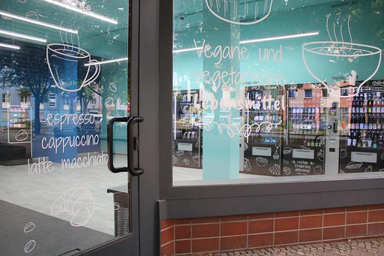 Вид на автоматический магазин с улицы. Фото: aussiedlerbote.de