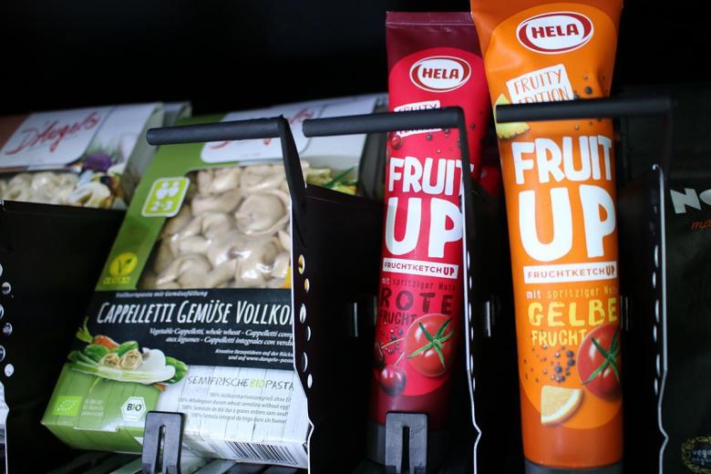 Пельмени и соусы в ассортименте. Фото: aussiedlerbote.de