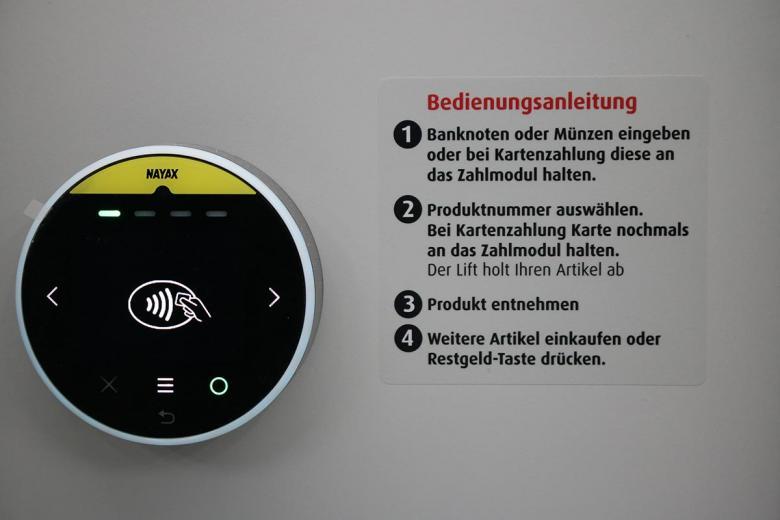 Доступно несколько способов оплаты, в том числе бесконтактная оплата. Фото: aussiedlerbote.de