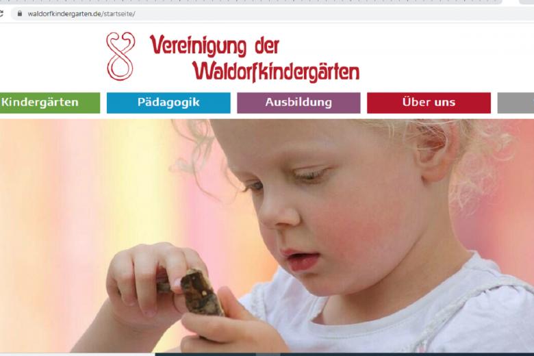 Детский сад по вальдорской системе. Скриншот: Waldorkindergaden.de