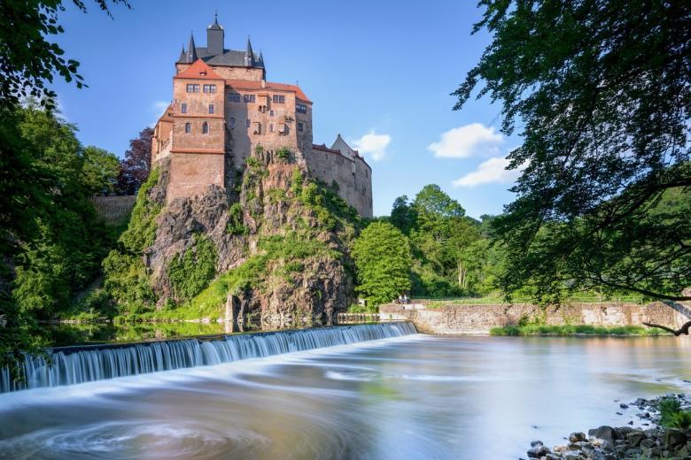 Крибштайн (нем. Burg Kriebstein). Фото: Kraft_Stoff / shutterstock.com