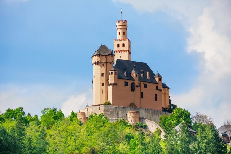 Марксбург (нем. Burg Marksburg). Фото: Sergey Novikov / shutterstock.com