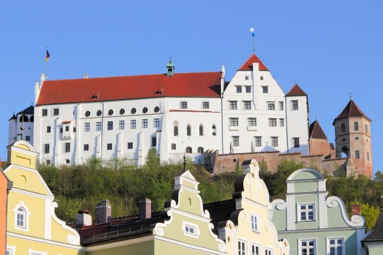 Траусниц (нем. Burg Trausnitz). Фото: ArTono / shutterstock.com