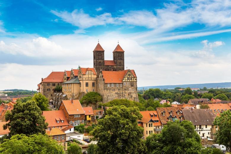 Кведлинбургский замок (Schloss Quedlinburg). Фото: S-F / shutterstock.com