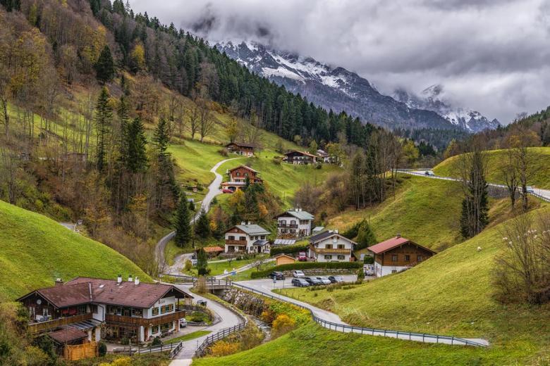 Баварские Альпы. Фото: Felix Mittermeier / Unsplash.com