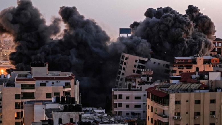ракетный обстрел сектора Газа