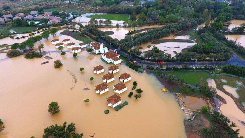 Наводнения накрыли Францию
