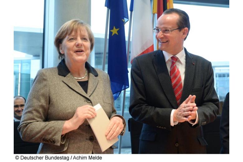 Взгляды лидеров ХДС/ХСС на роль и место объединённой Германии в Европе фото 1