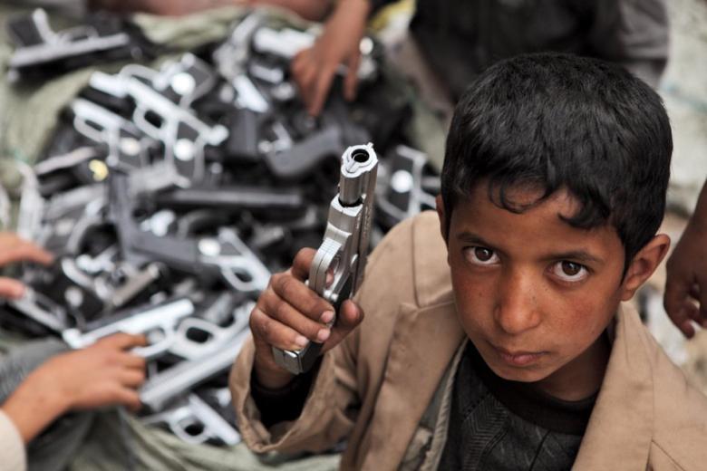 За один год восемь тысяч детей погибли или получили ранения в результате конфликтов фото 1