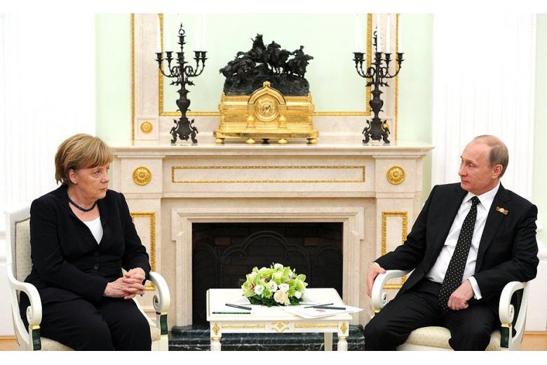 В Германии Путину доверяют больше чем Меркель фото 1