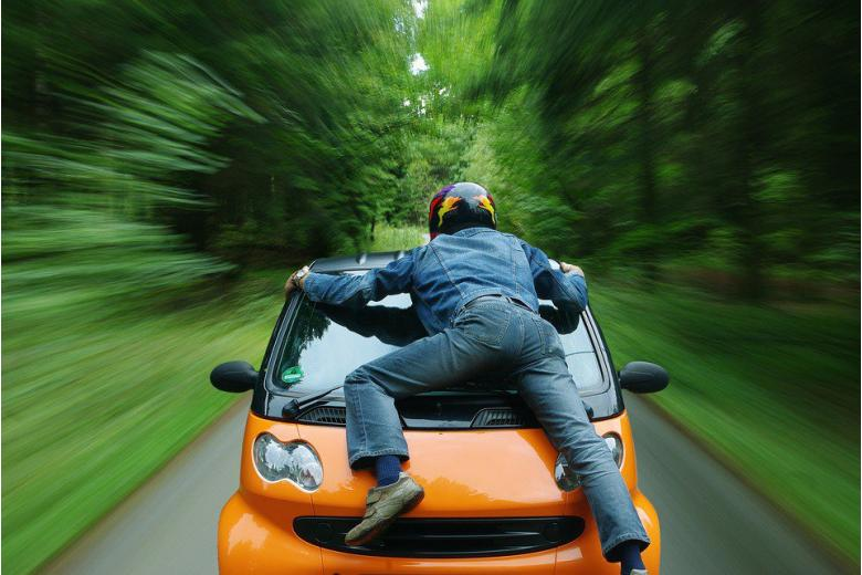 Берегись пенсионера за рулём! фото 1