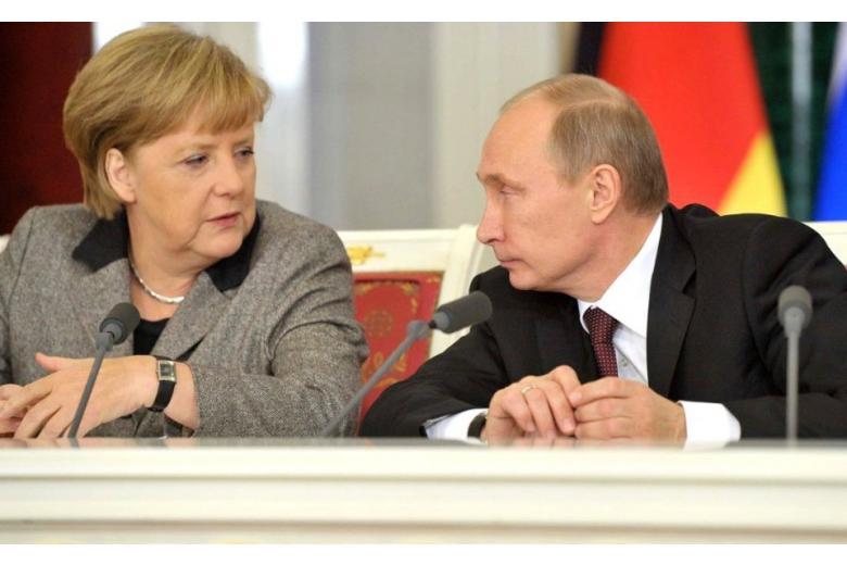 Российский вектор внешней политики второго правительственного кабинета А. Меркель в ФРГ фото 1