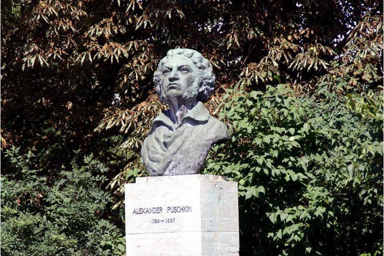 памятник Александру Сергеевичу Пушкину в Германии фото