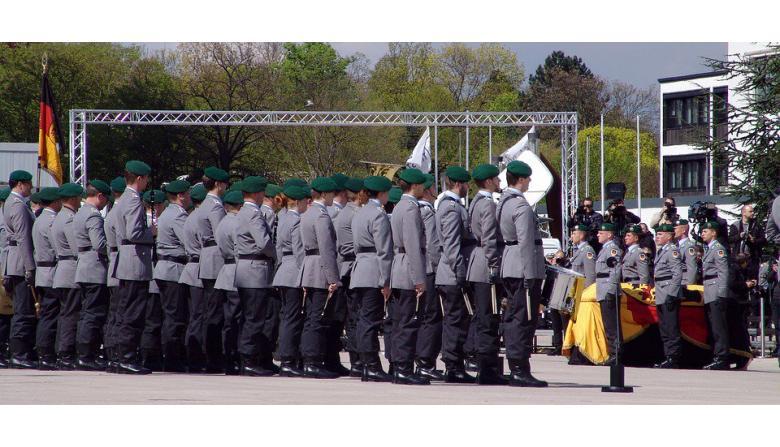 военная служба в Германии фото