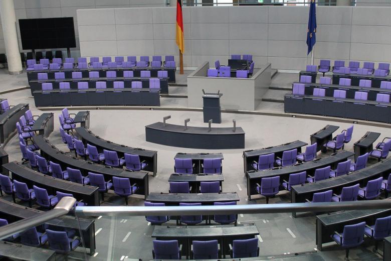 зал заседаний в бундестаге фото