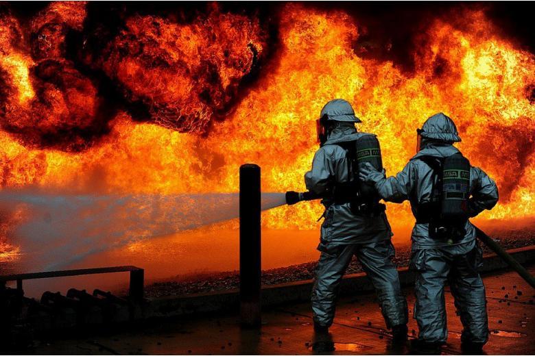 Пожар в лагере для беженцев. Случайность или поджог? фото 1