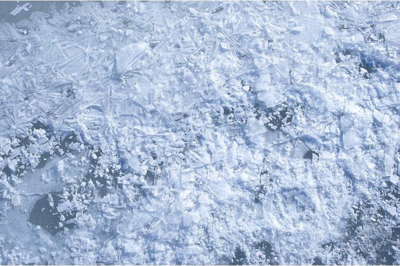 замороженная вода фото