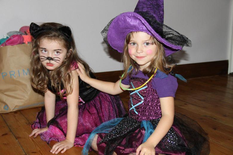 девочки в карнавальных костюмах фото