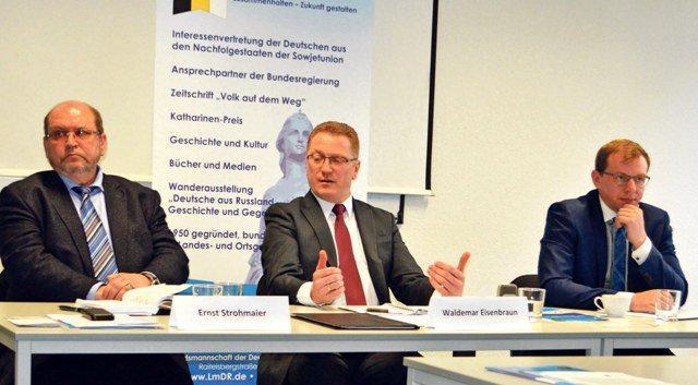 Konferenz der Deutschen aus Russland foto
